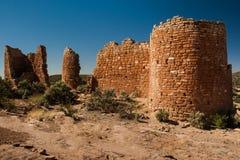 Hovenweep slott Arkivbild