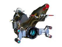 Hover bike. 3D CG rendering of a hover bike royalty free illustration