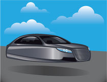 Hover Car vector Stock Photography
