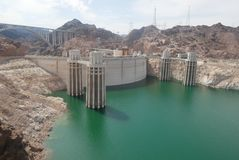 Hover Dam stock images