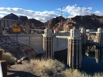Hover dam 1. Hover dam USA royalty free stock image