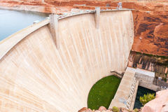 Hover dam view form Page bridge Royalty Free Stock Image
