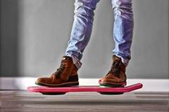 Hoverboard назад к будущему 2 Стоковое Фото
