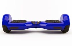 Hoverboard błękit Obrazy Royalty Free