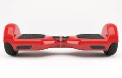 Hoverboard czerwień Zdjęcia Stock