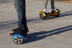 Hoverboard Royalty Free Stock Photo