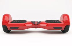 Hoverboard red Stock Photos
