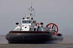 Hovercraft royalty free stock photo