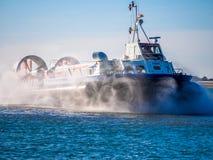 Hovercraft dell'isola di Wight fotografia stock libera da diritti