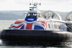 Hovercraft, Island Flyer. Southsea, Gosport to Ryde, Isle of Wight, Hampshire. Royalty Free Stock Photography