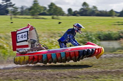 Hovercraft jump Royalty Free Stock Photos