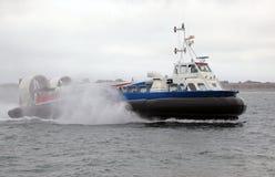Hovercraft in mare Fotografia Stock Libera da Diritti