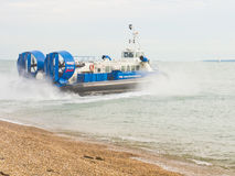 Hovercraft owned by hovertravel Stock Photo
