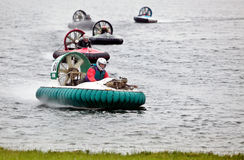 Hovercraft racing Royalty Free Stock Photo
