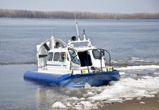 Hovercraft ship Royalty Free Stock Image