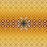 Hoverfly honey bee mimic gold pattern royalty free illustration