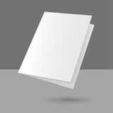 Hovering Blank empty magazine Royalty Free Stock Images