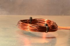 Hovering coil. Stock Photography