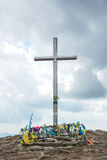 Hoverla Τα Καρπάθια βουνά, Ukraine 30 05 2015 Στοκ φωτογραφία με δικαίωμα ελεύθερης χρήσης