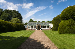 Hovingham Hall & Gardens - Glasshouse - Hot House - North Yorksh Stock Photography