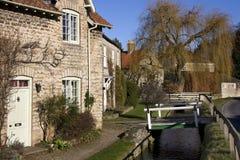 Hovingham - Nordyorkshire - Großbritannien Lizenzfreies Stockbild