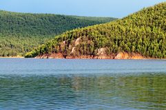 Hovsgol lake in Mongolia Royalty Free Stock Photography