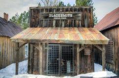 Hovslagare Shop, Idaho stad Fotografering för Bildbyråer