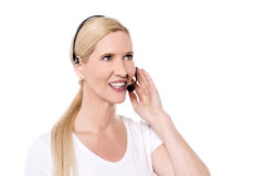 How can I help you ? Stock Photography
