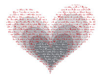 How do i love thee poem valentine Royalty Free Stock Photo