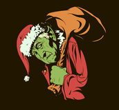 How the Grinch Stole Christmas stock illustration