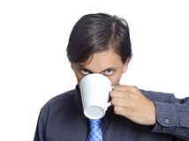 This is how I start my day Stock Image