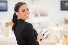 How may I help you? Stock Images