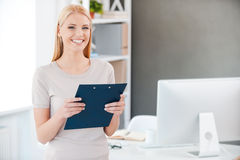 How may I help you? Stock Image