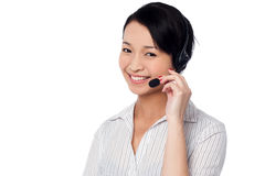 How may I help you? stock photo