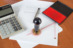 How much will the Notarial Service cost ? Stock Photo
