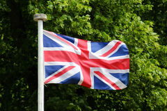 How Not to Fly the Union Flag Stock Image
