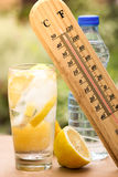 How to beat the heat stock photo