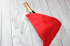 How to celebrate the New Year in the office without any problems stock photos