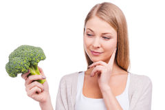 How to cook broccoli? Stock Photo