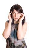 How to cure a headache Stock Photos