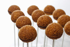 How to make cake pops - tutorial Royalty Free Stock Photo