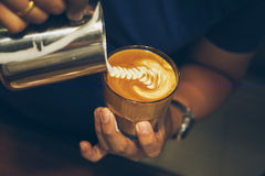 How to make coffee Royalty Free Stock Images