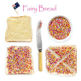 How to Make Fairy Bread Royalty Free Stock Image