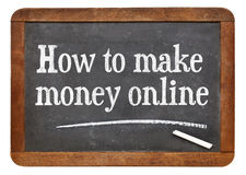 How to make money online Stock Photo