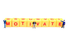 How to motivate? Royalty Free Stock Photography