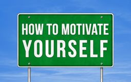 How to motivate yourself Royalty Free Stock Photography