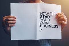 Free How To Start Your Own Business Royalty Free Stock Photo - 95602155
