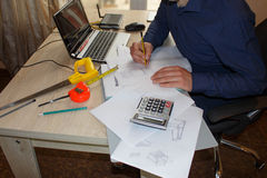 How to write business plan. Business opportunity pictures Royalty Free Stock Photography