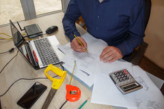 How to write business plan. Business opportunity pictures Royalty Free Stock Images