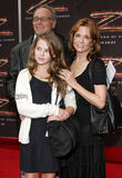 Howard Deutch, Lea Thompson and Zoey Deutch Stock Photo